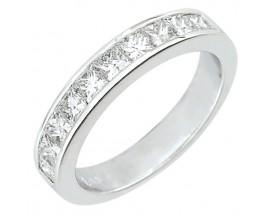Demi alliance diamants or Girard - 35036GO