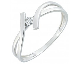 Bague solitaire or diamant(s) Christina Bernard - QD070GB4