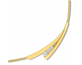Collier or diamant(s) Christian Bernard - PD527JB4