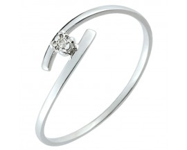 Bague solitaire or diamant(s) Christian Bernard - QM012GB4