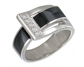 Bague or & diamant(s) Clozeau - F632DGG