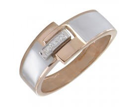 Bague or diamant(s) Clozeau - F628DBR