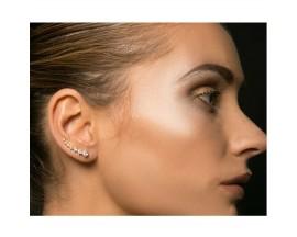 Boucles d'oreilles boutons argent Orus - E67