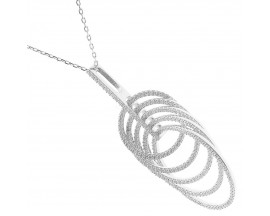 Collier argent Orus - CO175