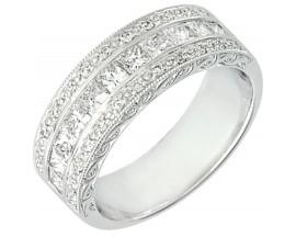 Demi alliance diamants or Girard - 3F605GB3