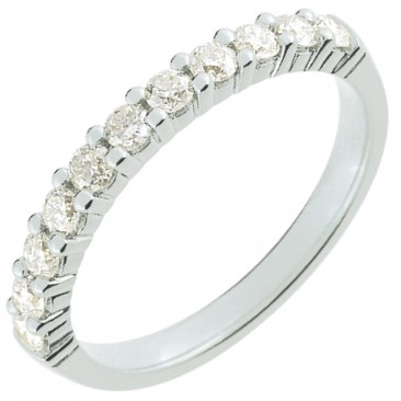 Demi alliance diamants or Girard - 3L008GB2