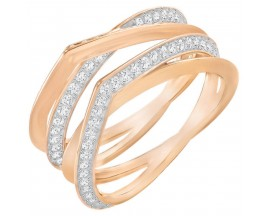 Bague Swarovski - Genius Ring CRY/ROS