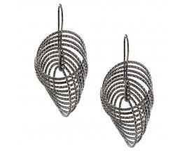 Boucles d'oreilles pendants argent Orus - CA340BLACK