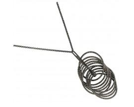 Collier argent Orus - CA341BLACK