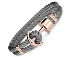 Bracelet nylon & acier Paul Hewitt