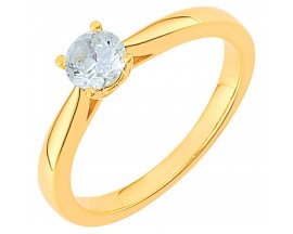 Bague solitaire or diamant(s) Girard - EA001HJB2