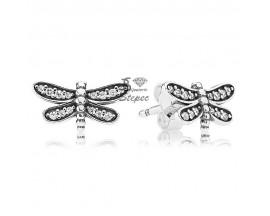 Boucles d'oreilles boutons argent Pandora - 290574CZ