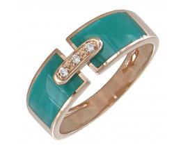 Bague or rose diamant(s) Clozeau - F250DRIR