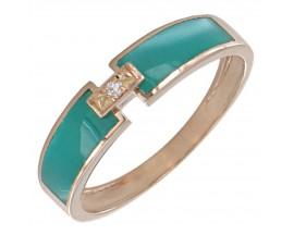 Bague or rose diamant(s) Clozeau - F304DRIR