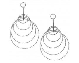 Boucles d'oreilles pendants argent Orus - CA215