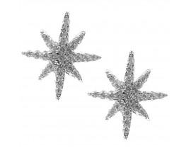 Boucles d'oreilles boutons argent Orus - BO141