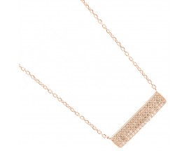 Collier argent rosé Orus - CO420PINK