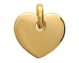 Pendentif coeur plaqué or Stepec - ISXBOPP