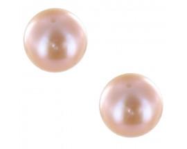 Boucles d'oreilles boutons perles or Stepec - blSUrF-j