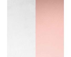 Cuir bracelet Les Georgettes - Gris clair/Rose clair 25 mm
