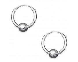 Boucles d'oreilles créoles argent Stepec - BJUJOSBI