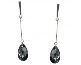 Boucles d'oreilles pendants argent Indicolite - BOPU-LARM-SINI