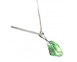 Collier argent Indicolite - CO-ALICIA-214