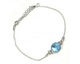 Bracelet argent Indicolite - BR-EMI-202