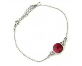Bracelet argent Indicolite - BR-EMI-208