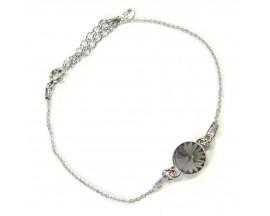 Bracelet argent Indicolite - BR-EMI-SINI