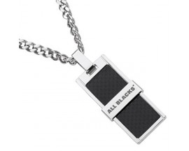 Collier homme acier All Blacks - 682054