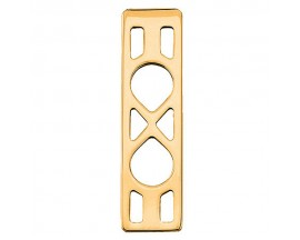 Pendentif collier Les Georgettes - Infini doré - 40 mm