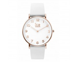 Montre ICE City Tanner White Rose Gold Small (36mm) Ice-Watch - 001505