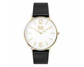 Montre ICE City Tanner Black Gold Medium (41mm) Ice-Watch - 001516