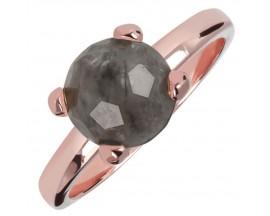 Bague plaqué or rose et quartz Bronzallure - WSBZ00949.GQ