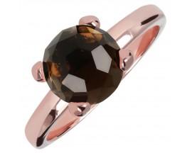 Bague plaqué or rose et quartz Bronzallure - WSBZ00949.SQ