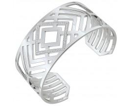 Bracelet rigide argent oxydes EOL Paris - S09.75103
