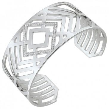 Bracelet rigide argent empierré EOL Paris - S09.75103