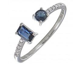 Bague or saphir(s) & diamant(s) Gringoire - BS 1837 SF/BTS