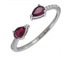 Bague or rubis & diamant(s) Gringoire - BS 1838 RF/BTS