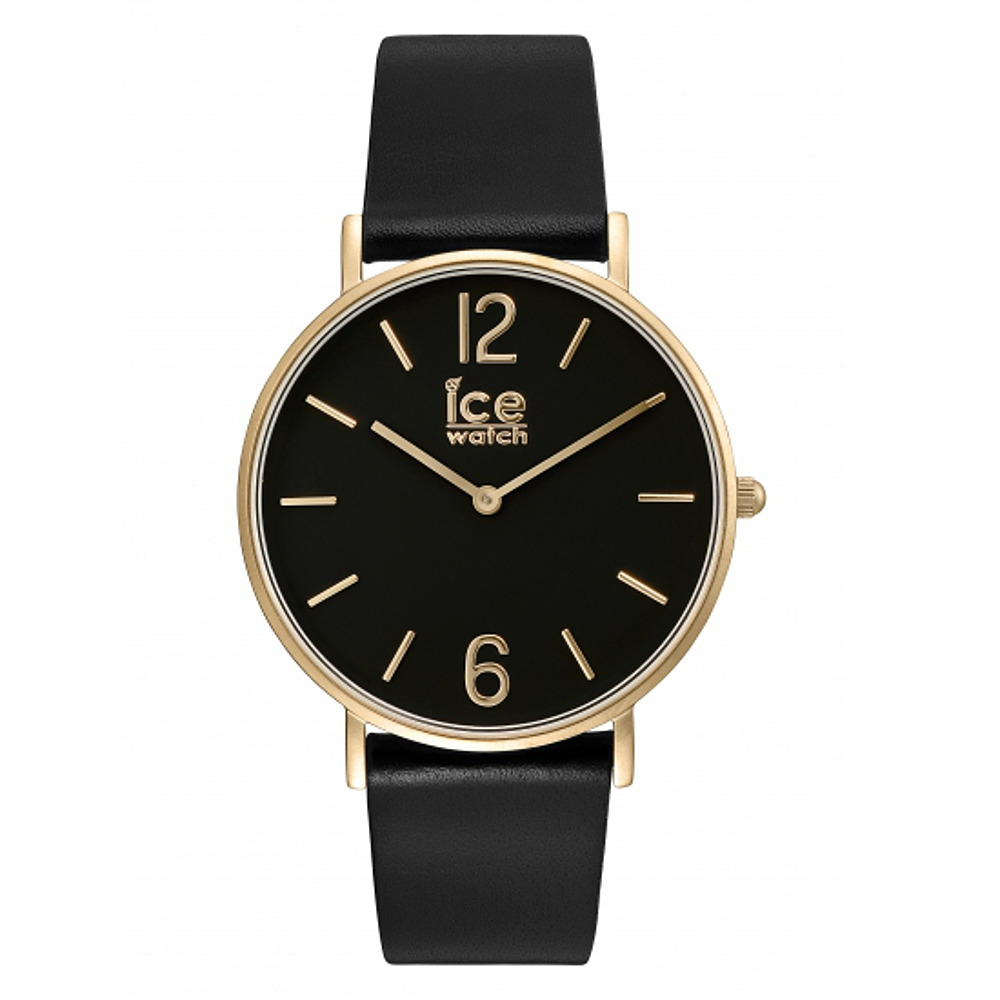 8f0849d647d7d Montre ICE City Tanner Black Gold Small (36mm) Ice-Watch - 001503 - 001503
