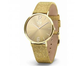 Montre ICE City Sparkling Glitter Gold Extra Small (32mm) Ice-Watch - 015081