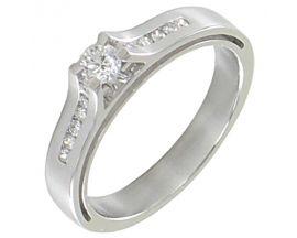 Bague or diamant(s) Clozeau - E123DG