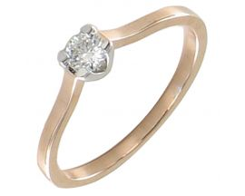 Bague or diamant(s) Clozeau - I097DRG20