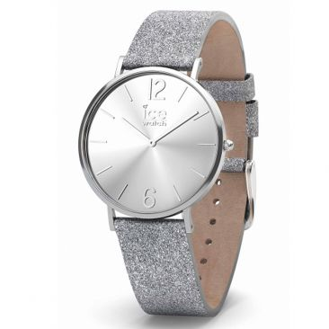 f2cb6d2030ee9 Montre ICE City Sparkling Glitter Silver Small (36mm) Ice-Watch - 015086