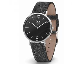 Montre ICE City Sparkling Glitter Black Small (36mm) Ice-Watch - 015088
