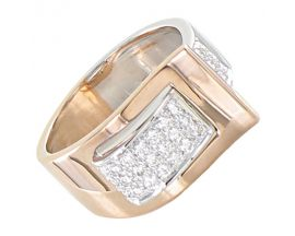 Bague or diamant(s) Clozeau - O144DRG
