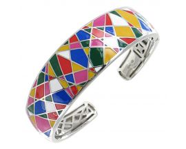 Bracelet jonc argent Una Storia - JO121153