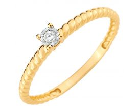 Bague or & diamant(s) - S12.00102