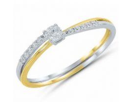 Bague or & diamant(s) - afrdBUTJ dt Io